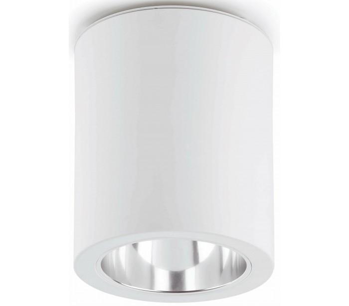 faro barcelona Påbygningsspot i aluminium ø15,2 cm 1 x e27 - hvid på lepong.dk