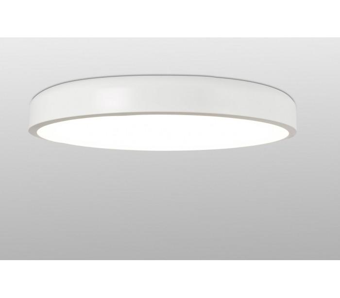 Image of   Plafond i metal og akryl Ø55 cm 1 x 36W LED - Hvid