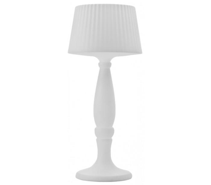 Image of   AGATA indendørs gulvlampe i Poleasy H180 x Ø80 cm - Hvid