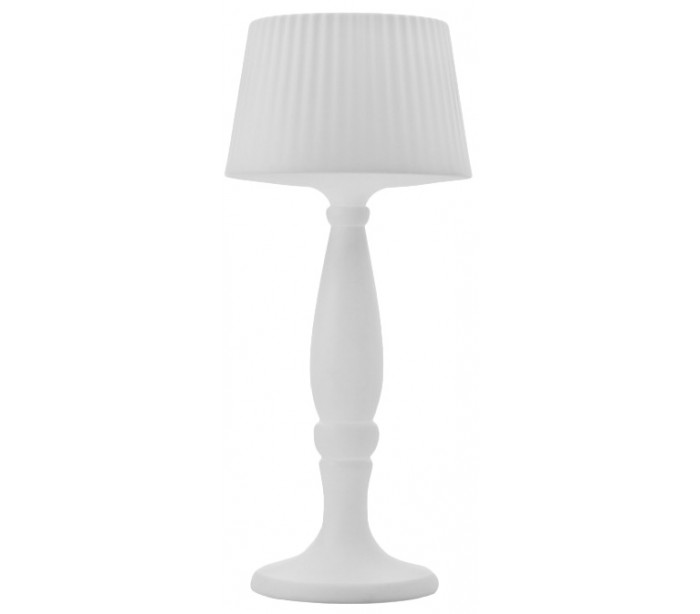 Image of   AGATA udendørs gulvlampe i Poleasy H180 x Ø80 cm - Hvid