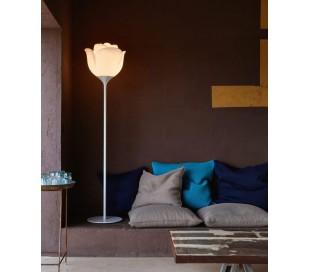 BABYLOVE indendørs gulvlampe i Poleasy H175 x Ø42 cm - Hvid