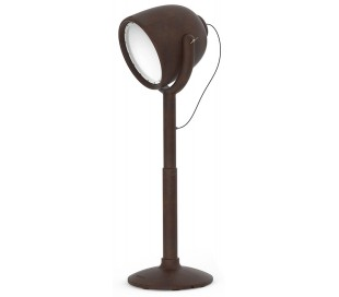 HOLLYWOOD udendørs gulvlampe i Poleasy H220 cm - Brun