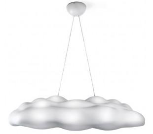 NEFOS inde og udendørs loftlampe 122 x 69 cm - Hvid