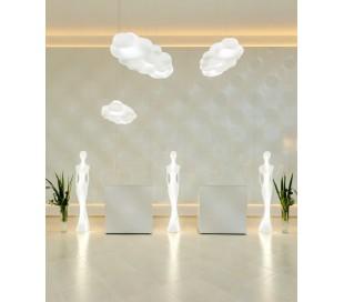 PENELOPE indendørs gulvlampe i Poleasy H210 cm - Hvid