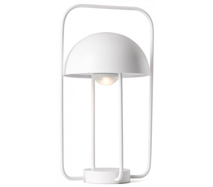 Image of   Trådløs bordlampe H31 cm 1 x LED 1-3,2W Dæmpbar - Hvid