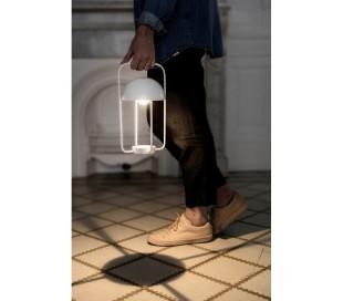 Trådløs bordlampe H31 cm 1 x LED 1-3,2W Dæmpbar - Hvid