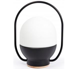 Trådløs bordlampe H20 cm 1 x LED 1-3W Dæmpbar - Sort