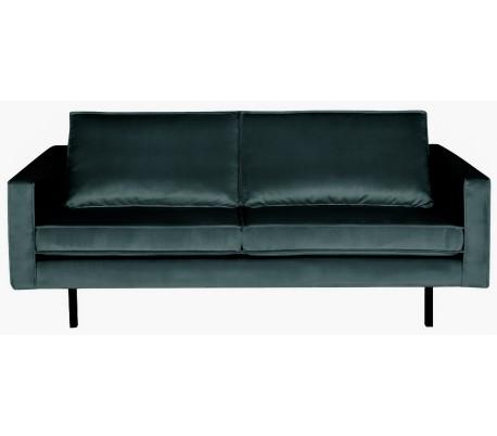 2,5-personers sofa i velour B190 cm – Teal