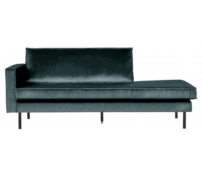 selected by lepong Daybed sofa i velour b206 cm - teal på lepong.dk