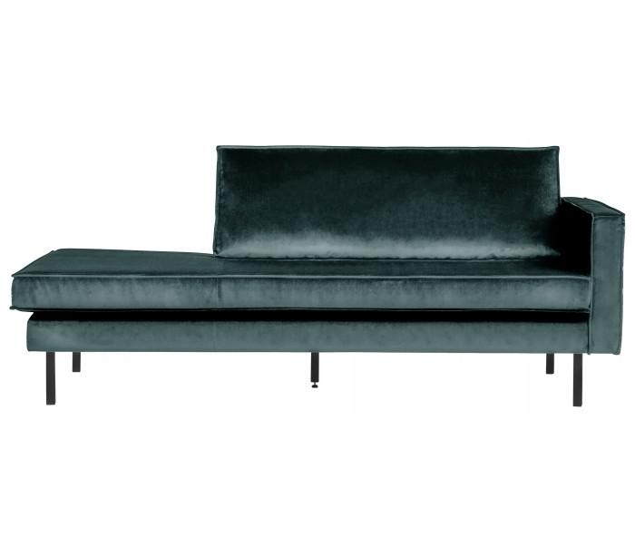 selected by lepong – Daybed sofa i velour b206 cm - teal fra lepong.dk