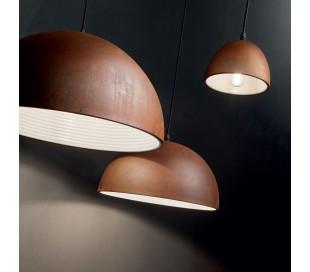 FOLK Loftlampe i metal Ø50 cm 1 x E27 - Corten