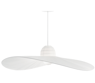 MADAME Loftlampe i satin Ø110 cm 1 x E27 - Hvid