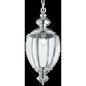NORMA Loftlampe i glas og metal Ø25 cm 1 x E27 - Krom