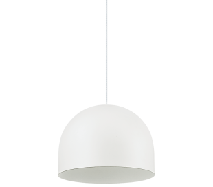 TALL Loftlampe i metal Ø13,5 cm 1 x E27 - Hvid