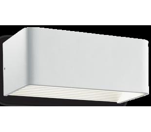 CLICK Væglampe i aluminium B20 cm 1 x 12W LED - Hvid