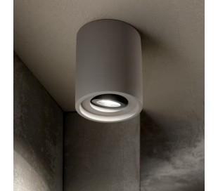 OAK Påbygningsspot i beton Ø13,5 cm 1 x GU10 - Grå