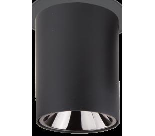 NITRO Påbygningsspot i metal Ø10,5 cm 1 x 15W LED - Mat sort
