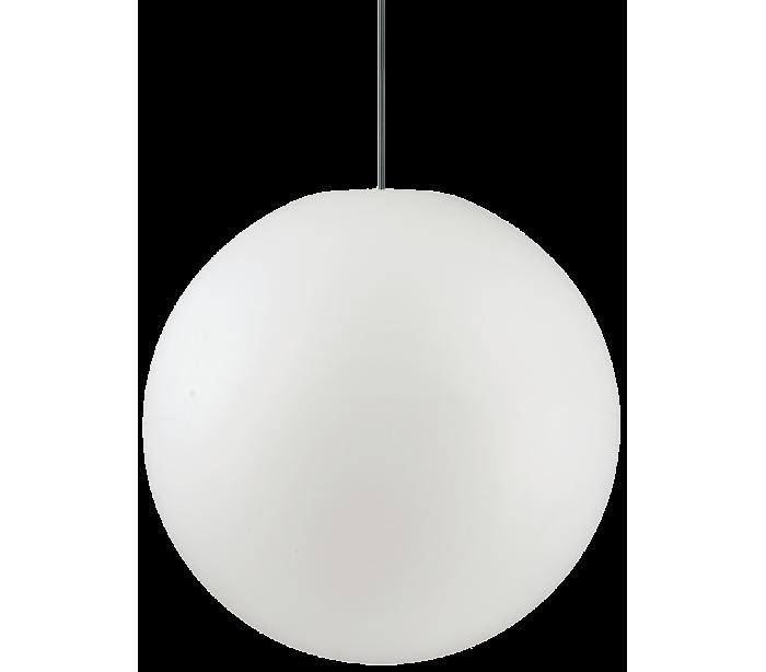 SOLE Loftlampe i kunststof Ø50 cm 1 x E27 - Hvid