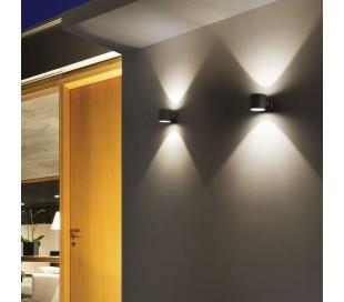 SNIF Væglampe i aluminium H11 cm 1 x G9 - Grå
