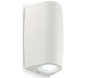 KEOPE Væglampe i aluminium H16,5 cm 1 x GU10 - Hvid