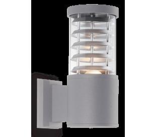 TRONCO Væglampe i aluminium H25 cm 1 x E27 - Grå