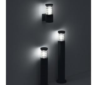 TRONCO Væglampe i aluminium H25 cm 1 x E27 - Antracit