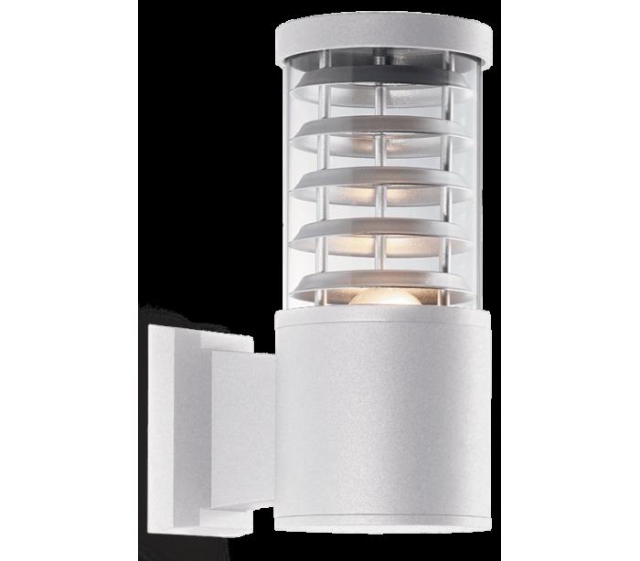 faro barcelona – Tronco væglampe i aluminium h25 cm 1 x e27 - hvid fra lepong.dk