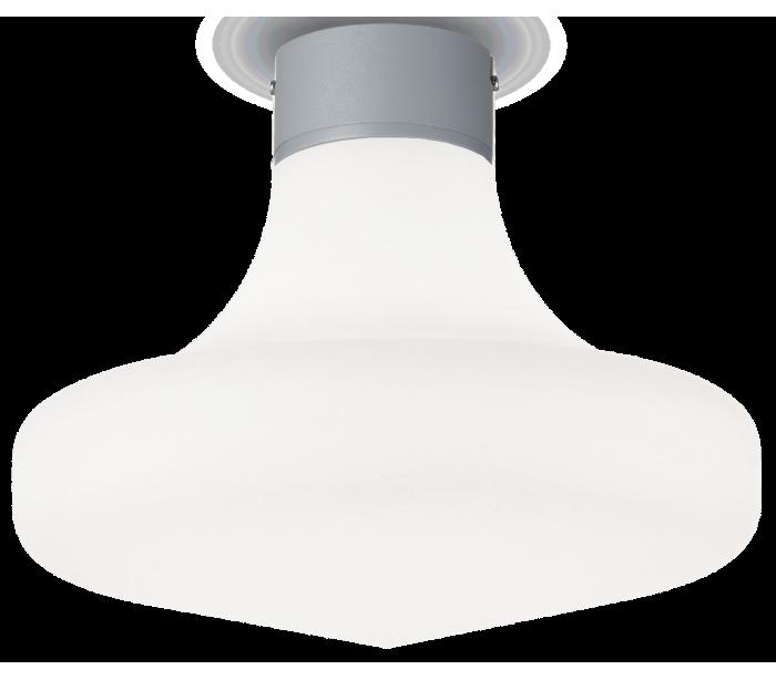 philips belysning Sound loftlampe i aluminium og kunststof ø30 cm 1 x e27 - grå på lepong.dk