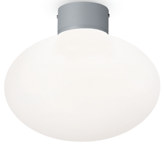 Image of   ARMONY Loftlampe i aluminium og kunststof Ø28 cm 1 x E27 - Grå