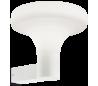 SOUND Væglampe i aluminium og kunststof H29,5 cm 1 x E27 - Hvid