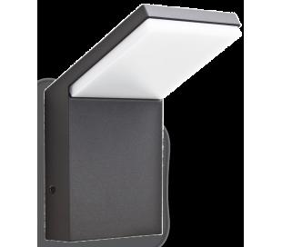 STYLE Væglampe i aluminium og kunststof H17 cm 1 x 9W LED - Antracit
