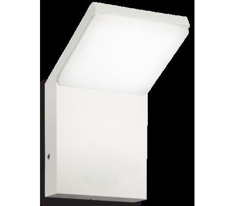 STYLE Væglampe i aluminium og kunststof H17 cm 1 x 9W LED - Hvid