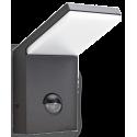 STYLE Væglampe med sensor i aluminium og kunststof H17 cm 1 x 9,5W LED - Antracit
