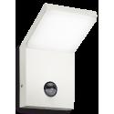 STYLE Væglampe med sensor i aluminium og kunststof H17 cm 1 x 9,5W LED - Hvid