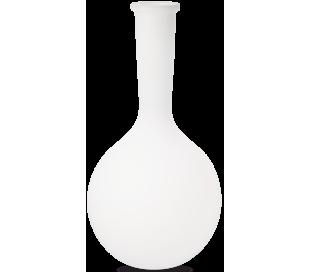 JAR Dekorativ lampe i kunststof H101 cm 1 x E27 - Hvid
