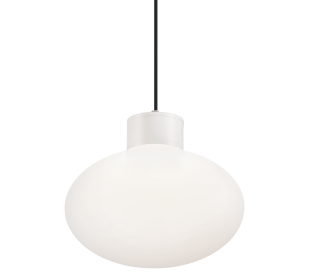 ARMONY Loftlampe i aluminium og kunststof Ø28 cm 1 x E27 - Hvid