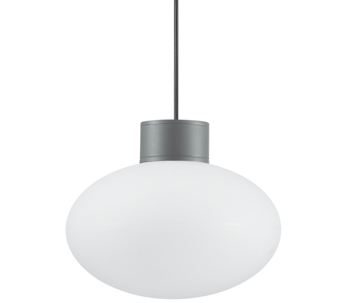 Image of   ARMONY Loftlampe i aluminium og kunststof Ø28 cm 1 x E27 - Antracit