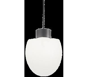 CONCERTO Loftlampe i aluminium og kunststof Ø23 cm 1 x E27 - Antracit