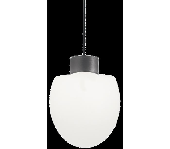 Image of   CONCERTO Loftlampe i aluminium og kunststof Ø23 cm 1 x E27 - Antracit