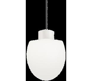 CONCERTO Loftlampe i aluminium og kunststof Ø23 cm 1 x E27 - Hvid