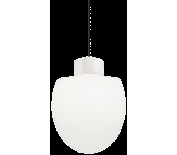 Image of   CONCERTO Loftlampe i aluminium og kunststof Ø23 cm 1 x E27 - Hvid