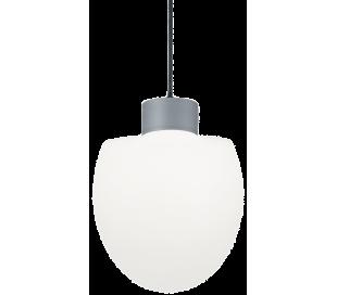 CONCERTO Loftlampe i aluminium og kunststof Ø23 cm 1 x E27 - Grå