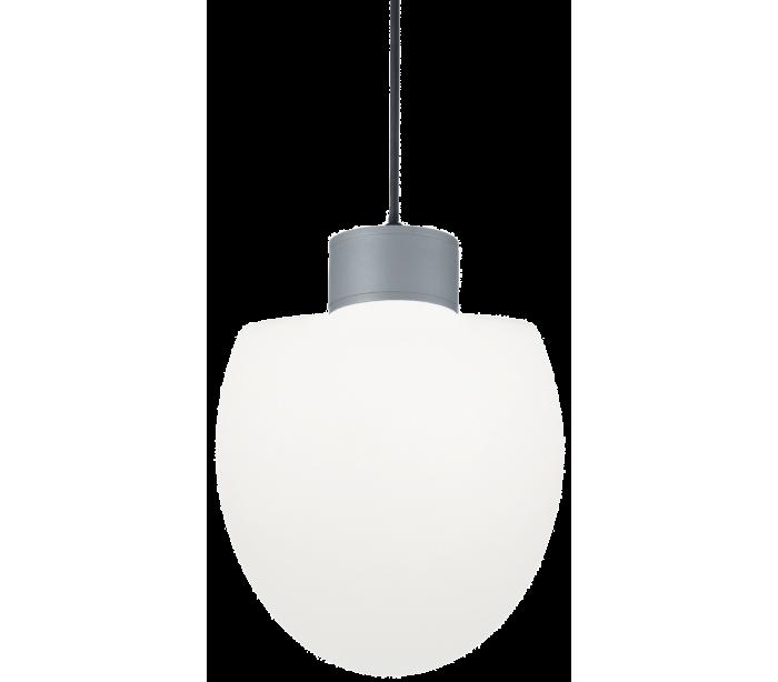 Image of   CONCERTO Loftlampe i aluminium og kunststof Ø23 cm 1 x E27 - Grå