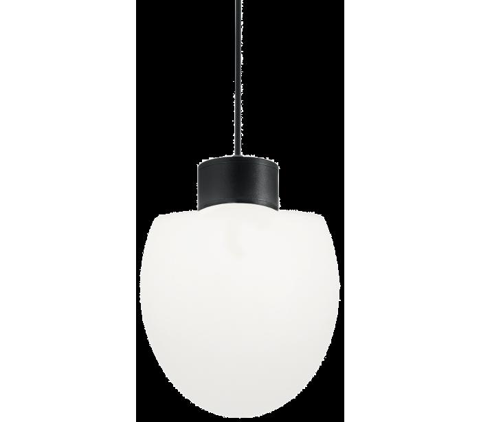 Image of   CONCERTO Loftlampe i aluminium og kunststof Ø23 cm 1 x E27 - Sort