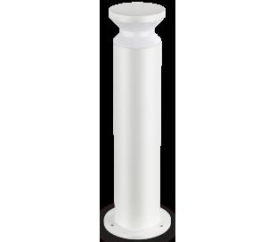 TORRE Bedlampe i aluminium og plast H60 cm 1 x E27 - Hvid/Hvid