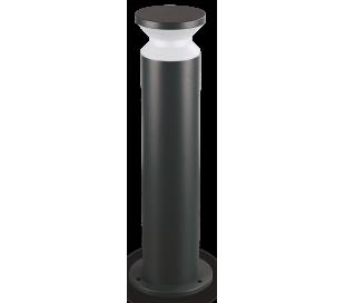 TORRE Bedlampe i aluminium og plast H60 cm 1 x E27 - Sort/Hvid
