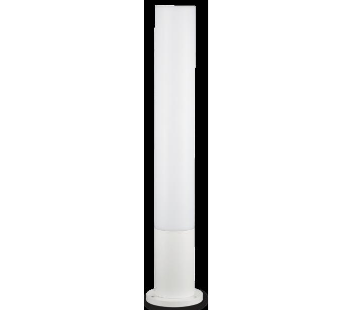 Image of   EDO Bedlampe i aluminium og polycarbonat Rund H80 cm 1 x GX53 - Hvid/Hvid