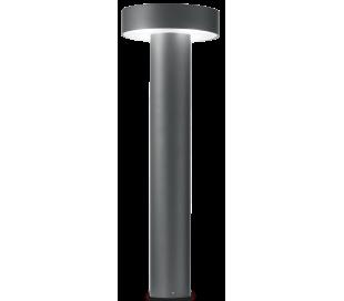 TESLA Bedlampe i aluminium og plast H60 cm 4 x G9 - Antracit/Hvid