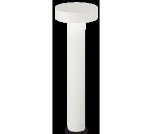 TESLA Bedlampe i aluminium og plast H60 cm 4 x G9 - Hvid/Hvid