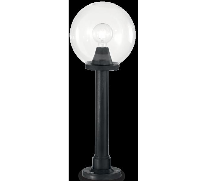 Image of   CLASSIC GLOBE Bedlampe i resin og plast H82 cm 1 x E27 - Sort/Klar